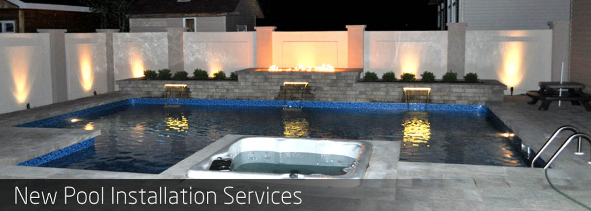 New Pool Installation Services